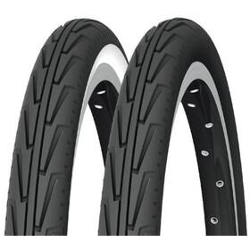 """Michelin City'J Bike Tyre 18"""" wire black"""